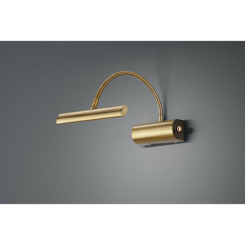 Trio CURTIS 279770104 képmegvilágító lámpa matt réz fém incl. 1 x SMD, 4W, 3000K, 380Lm 380 lm 2700 K IP20