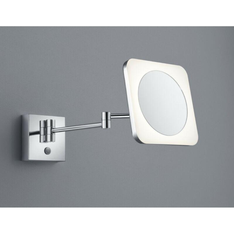 Trio VIEW 283090106 fürdőszoba fali lámpa króm fém incl. 1 x SMD, 3W, 3000K, 280Lm 280 lm 3000 K IP44 A+