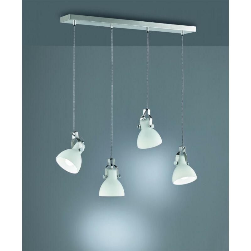 Trio GINELLI 301500407 étkező lámpa matt nikkel fém excl. 4 x E14, max. 28W E14 4 db IP20