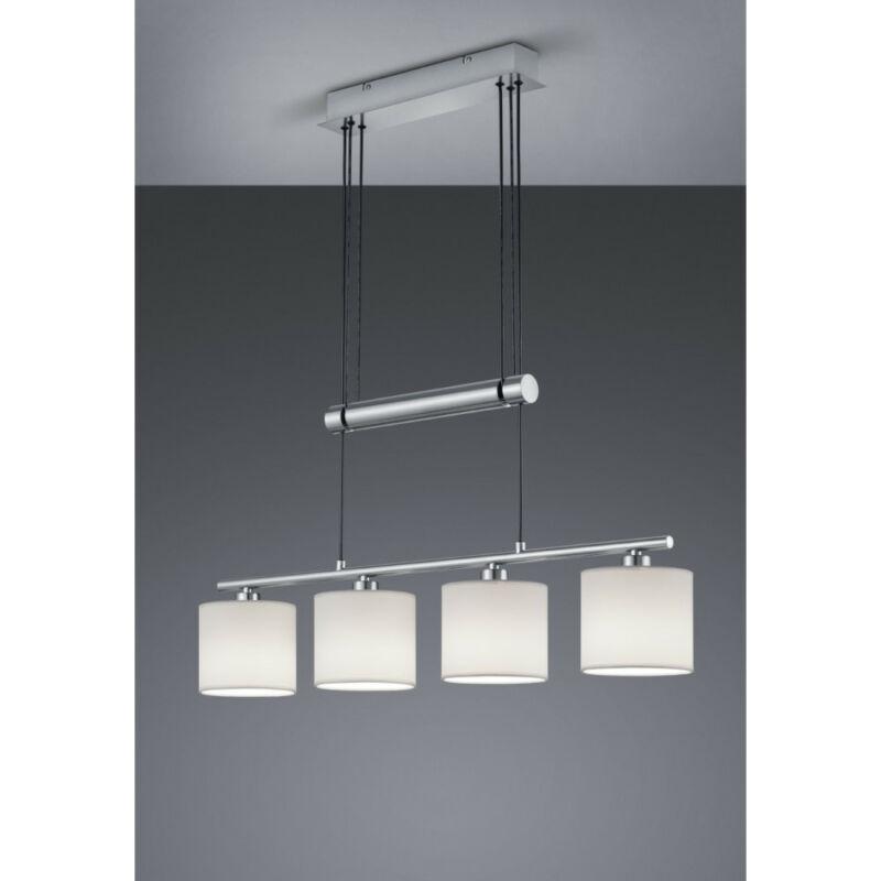 Trio GARDA 305400401 étkező lámpa matt nikkel fém excl. 4 x E14, max. 40W E14 4 db IP20