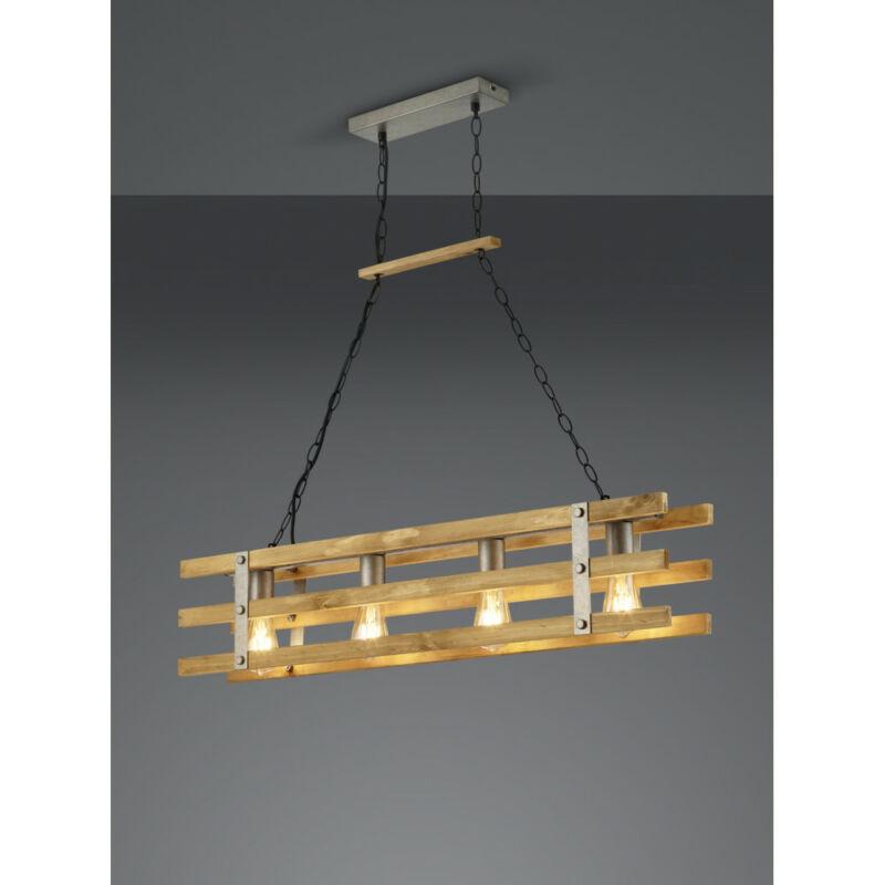 Trio KHAN 305500467 étkező lámpa excl. 4 x E27