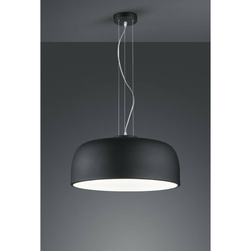 Trio BARON 309800432 étkező lámpa matt fekete fém excl. 4 x E27, max. 40W E27 4 db IP20