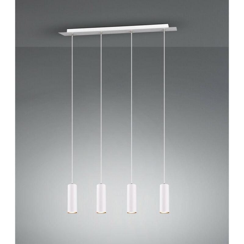 Trio MARLEY 312400401 étkező lámpa fehér fém excl. 4 x GU10 GU10 4 db IP20