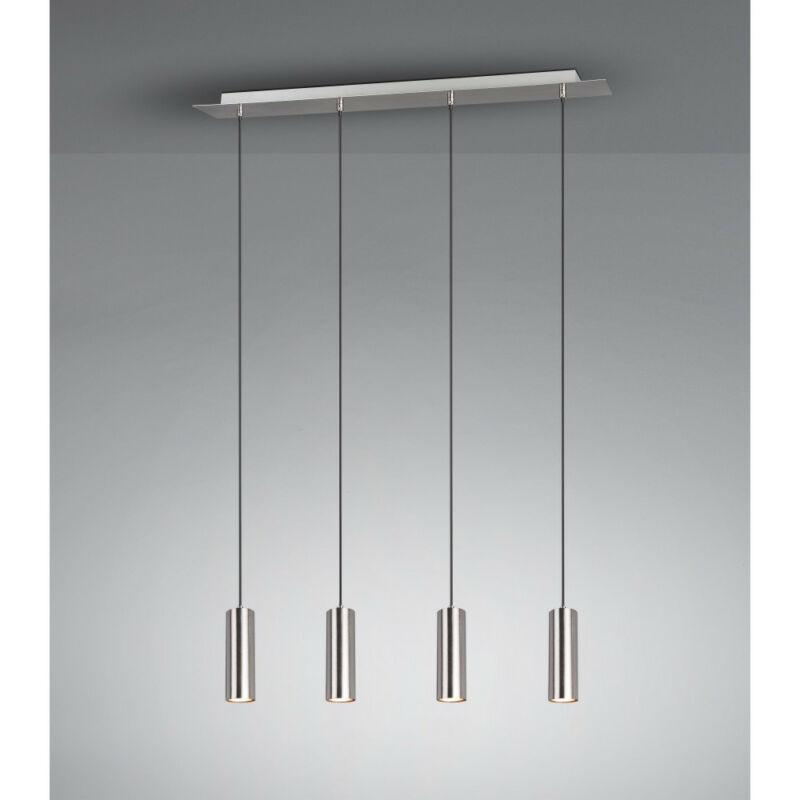 Trio MARLEY 312400407 étkező lámpa matt nikkel fém excl. 4 x GU10 GU10 4 db IP20