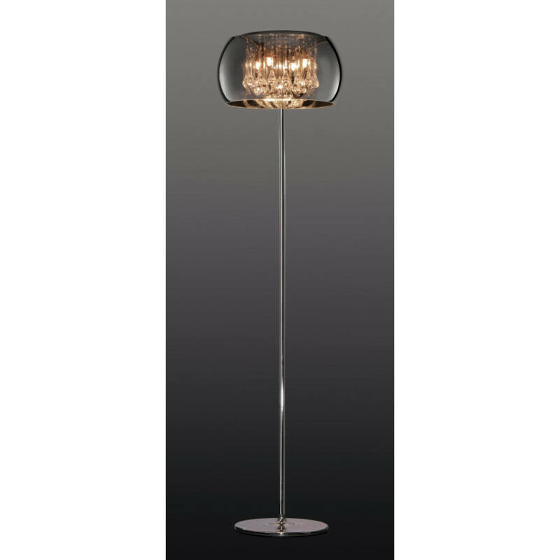 Trio VAPORE 411210406 dekor lámpa króm fém incl. 4 x G9, 42W, 2800K, 624Lm G9 4 db 624 lm 2800 K IP20 C