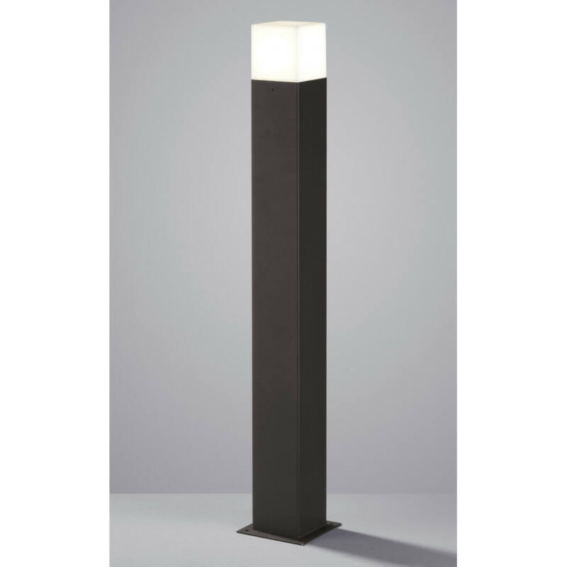 Trio HUDSON 420060142 kültéri led állólámpa antracit alumínium incl. 1 x E14, 4W, 3000K, 320Lm E14 1 db