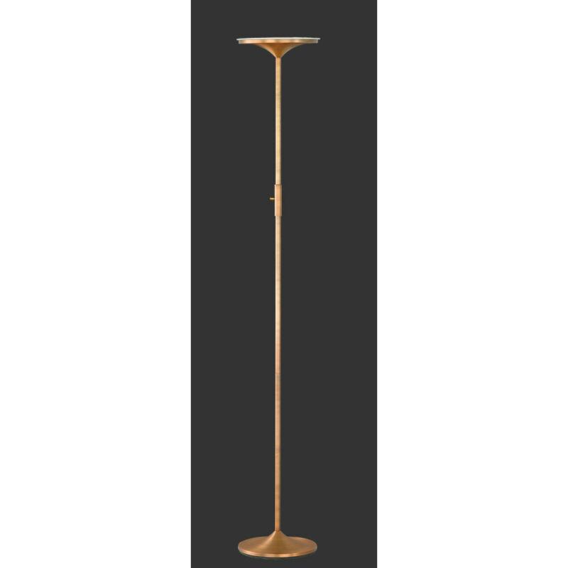 Trio ARANGO 429110104 állólámpa bronz fém incl. 1 x SMD, 20W, 3000K, 1750Lm LED 1 db 1750 lm 2700 K IP20