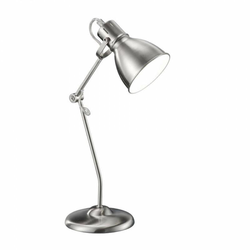 Trio JASPER 500500107 íróasztal lámpa nikkel fém excl. 1 x E14, max. 18W E14 1 db 204 lm 2700 K IP20