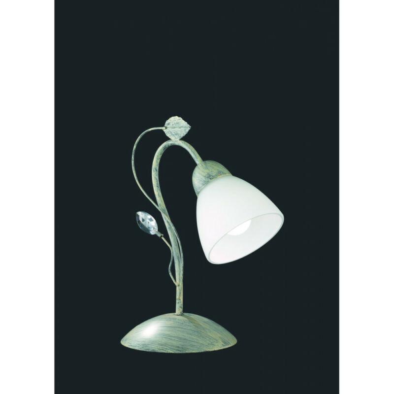 Trio TRADITIO 500700161 éjjeli asztali lámpa antik szürke fém excl. 1 x E14, max. 40W E14 1 db IP20
