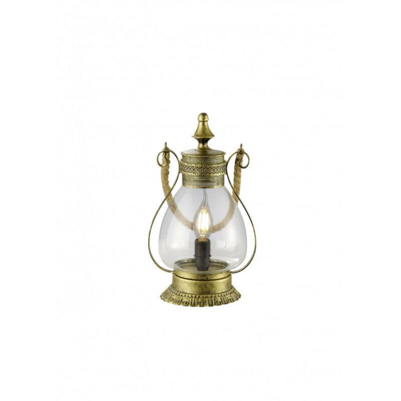 Trio LINDA 503500104 asztali lámpa antik réz fém excl. 1 x E14, max. 40W E14 1 db IP20
