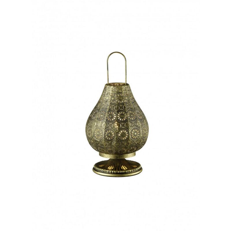 Trio JASMIN 503700104 asztali lámpa antik réz fém excl. 1 x E14, max. 40W E14 1 db IP20