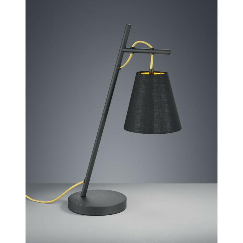 Trio ANDREUS 507500179 éjjeli asztali lámpa matt fekete fém excl. 1 x E14, max. 40W E14 1 db IP20