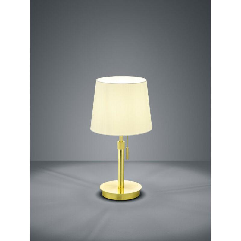 Trio LYON 509100108 éjjeli asztali lámpa matt sárgaréz fém excl. 1 x E27, max. 60W E27 1 db IP20