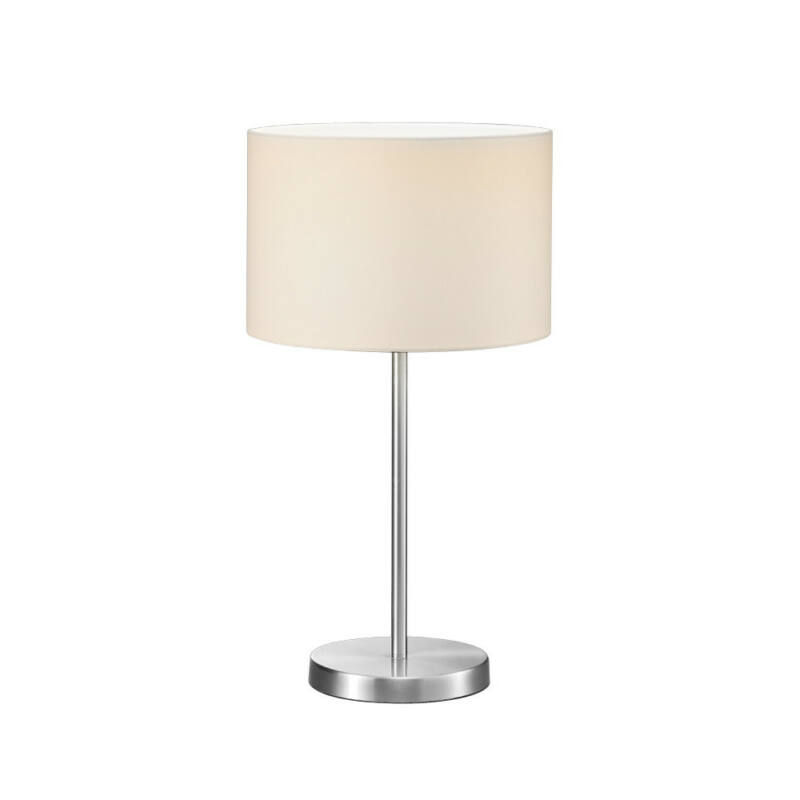 Trio HOTEL 511100101 asztali lámpa nikkel fém excl. 1 x E27, max. 60W E27 1 db IP20