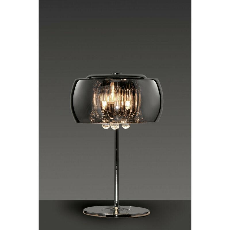 Trio VAPORE 511210306 ledes asztali lámpa króm fém incl. 3 x G9, 42W, 2800K, 624Lm G9 3 db 624 lm 2800 K IP20 C