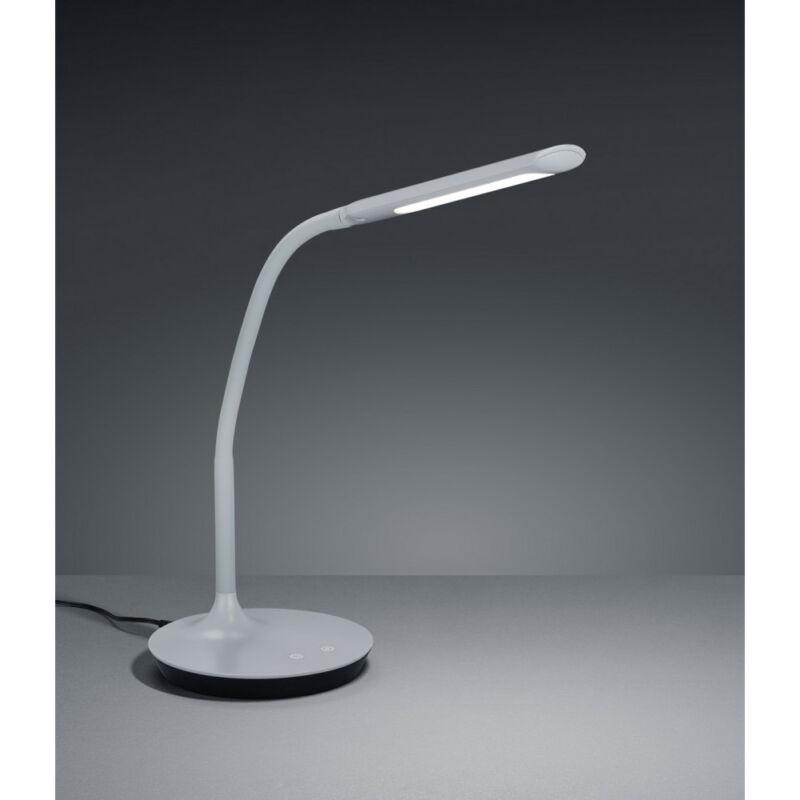 Trio POLO 527090111 ledes asztali lámpa szürke műanyag incl. 1 x SMD, 5W, 3000+4000+5000K, 550Lm 550 lm 3000 K IP20 A+