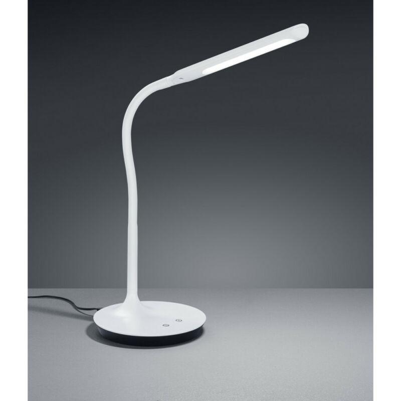 Trio POLO 527090131 ledes asztali lámpa fehér műanyag incl. 1 x SMD, 5W, 3000+4000+5000K, 550Lm 550 lm 3000 K IP20 A+