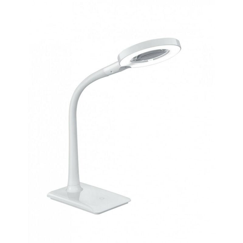 Trio LUPO 527290101 ledes asztali lámpa fehér műanyag incl. 1 x SMD, 5W, 3500K, 550Lm 550 lm 3500 K IP20 A+