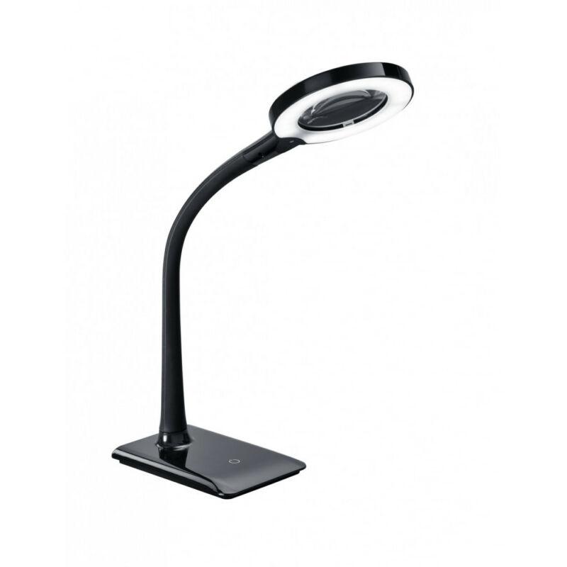 Trio LUPO 527290102 íróasztal lámpa fekete műanyag incl. 1 x SMD, 5W, 3500K, 550Lm 550 lm 3500 K IP20 A+