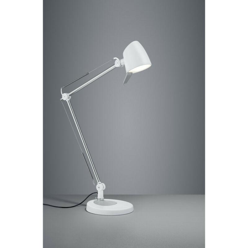 Trio RADO 527690131 ledes asztali lámpa matt fehér fém incl. 1 x SMD, 5W, 3000+4000+5000K, 550Lm 550 lm 3000 K IP20 A+