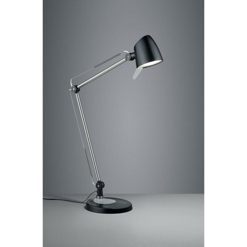 Trio RADO 527690132 ledes asztali lámpa matt fekete fém incl. 1 x SMD, 5W, 3000+4000+5000K, 550Lm 550 lm 3000 K IP20 A+