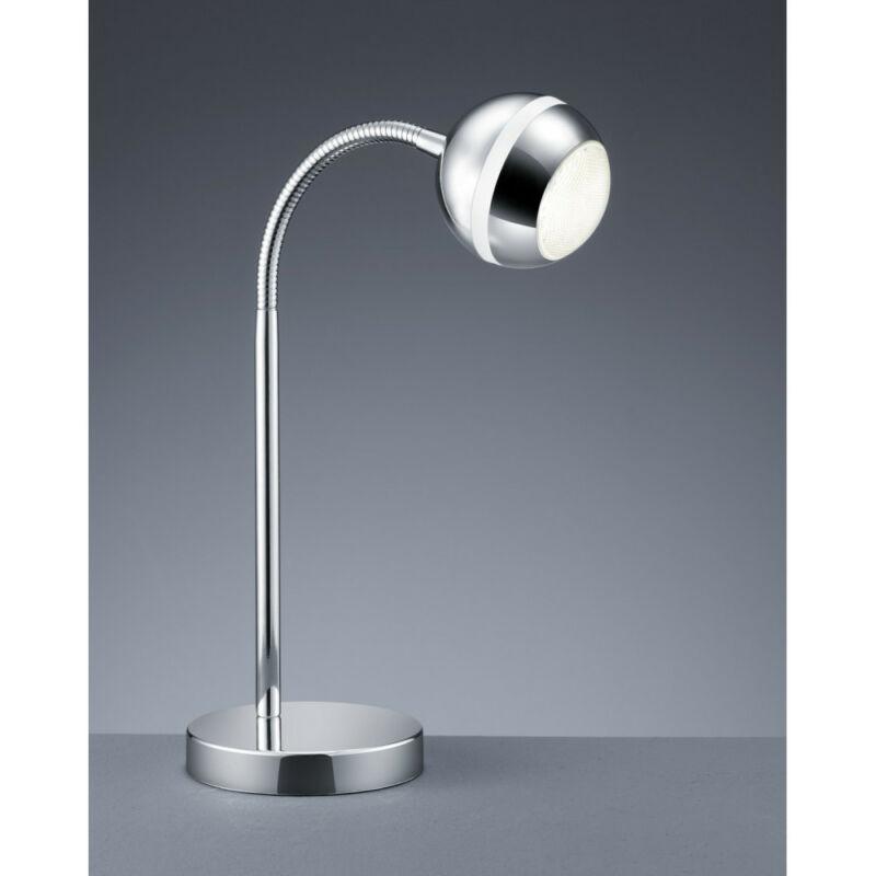Trio BALOUBET 528210106 ledes asztali lámpa króm műanyag incl. 1 x SMD, 3,8W, 3100K, 350Lm LED 1 db 240 lm 2700 K IP20