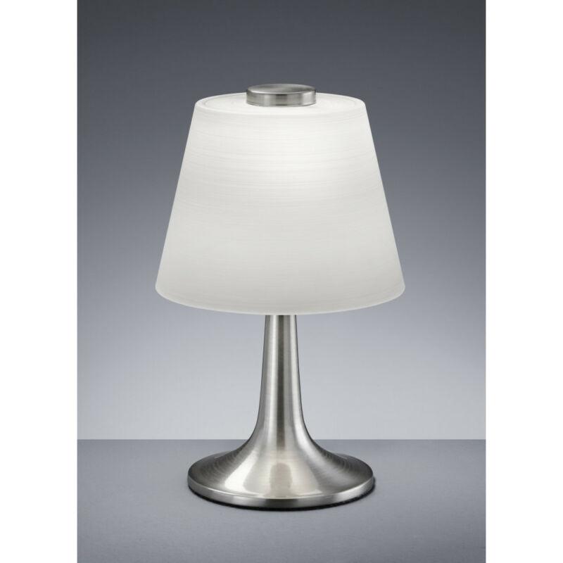 Trio MONTI 529310107 ledes asztali lámpa nikkel fém incl. 1 x E14, 4W, 3000K, 320Lm E14 1 db 310 lm 2700 K IP20