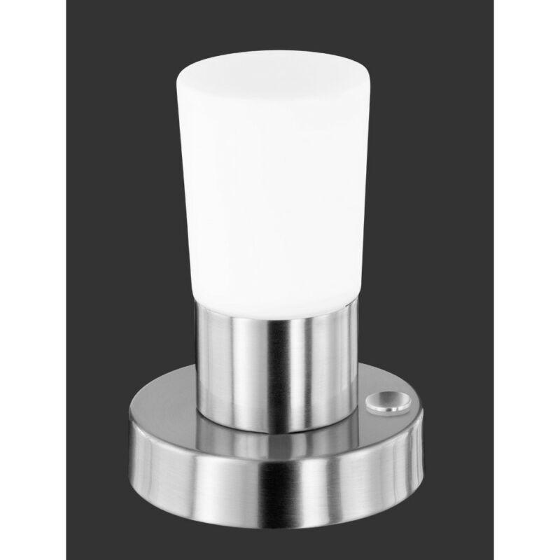 Trio CRISTO 529690107 ledes asztali lámpa nikkel fém incl. 1 x SMD, 4,3W, 3000K, 430Lm LED 1 db 400 lm 2700 K IP20
