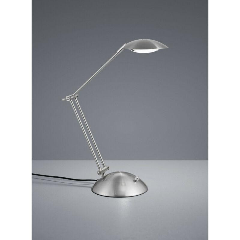Trio CALCIO 572410107 ledes asztali lámpa matt nikkel fém incl. 1 x SMD, 6W, 3000K, 560Lm 560 lm 3000 K IP20 A+