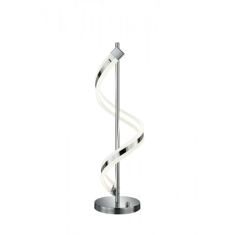 Trio SYDNEY 572910106 asztali lámpa króm fém incl. 1 x SMD, 14,5W, 3000K, 1300Lm SMD 1 db 1300 lm 3000 K IP20 A+