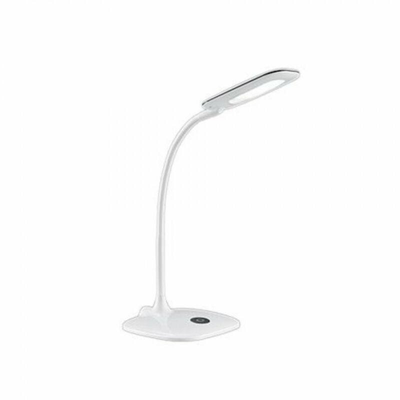Trio POLLY 573910101 íróasztal lámpa fehér műanyag incl. 1 x SMD, 4,8W, 3000K, 450Lm 450 lm 3000 K IP20 A+