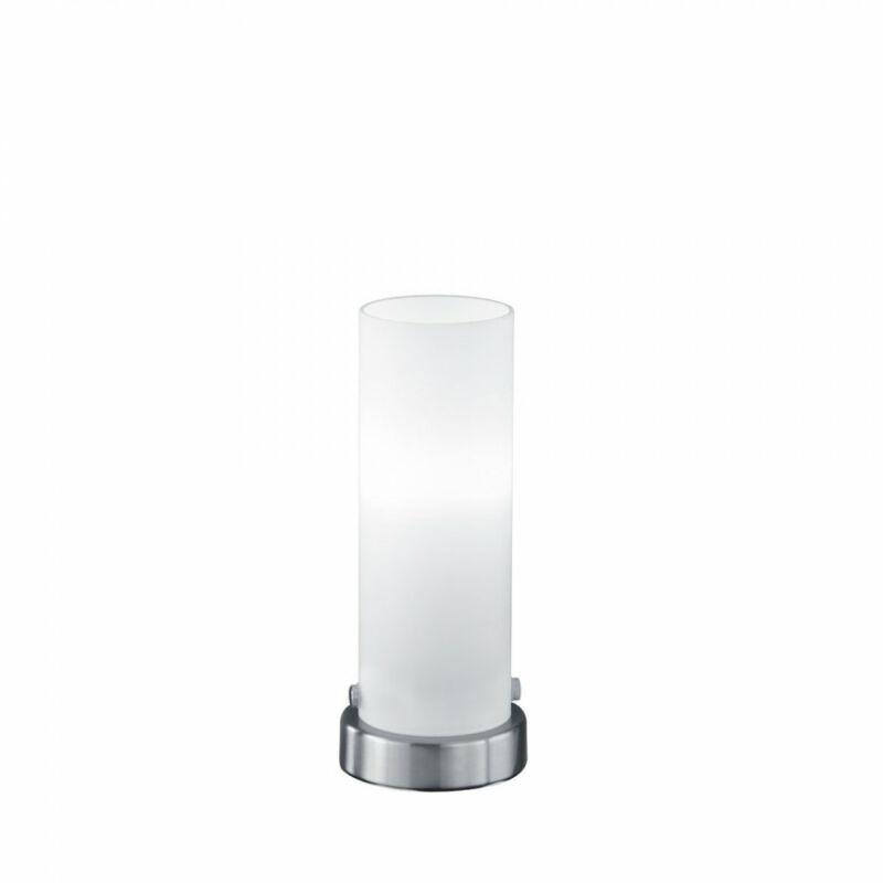 Trio SETA 574090107 ledes asztali lámpa nikkel fém incl. 1 x E14, 4W, 3000K, 320Lm E14 1 db 310 lm 2700 K IP20