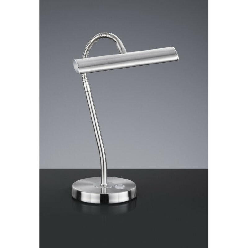 Trio CURTIS 579790107 érintőkapcsolós asztali lámpa matt nikkel fém incl. 1 x SMD, 4W, 3000K, 380Lm 380 lm 2700 K IP20