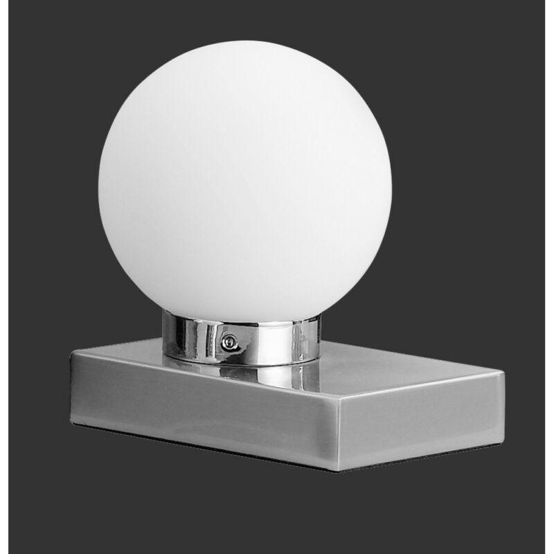 Trio DAVI 5900011-07 érintőkapcsolós asztali lámpa fehér excl. 1 x E14, max. 40W E14 1 db