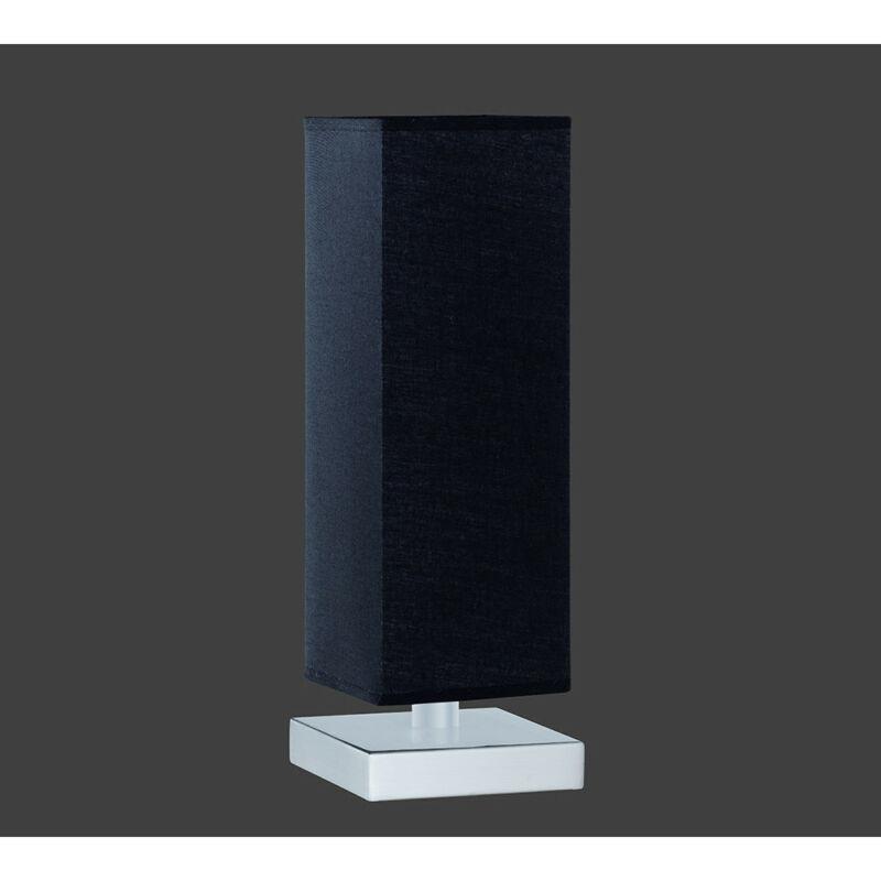 Trio PIET 5914011-02 érintőkapcsolós asztali lámpa fekete excl. 1 x E14, max. 60W E14 1 db