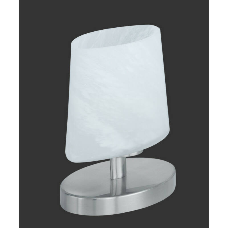 Trio MORTEN 592000107 érintőkapcsolós asztali lámpa fehér incl. 1 x G9, 28W, 2800K, 370Lm G9 1 db