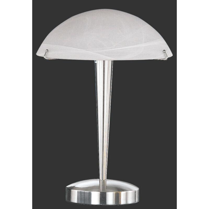 Trio HENK 5925011-07 érintőkapcsolós asztali lámpa fehér excl. 1 x E14, max. 60W E14 1 db
