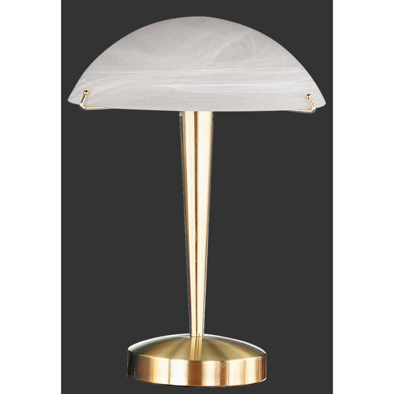 Trio HENK 5925011-08 érintőkapcsolós asztali lámpa fehér excl. 1 x E14, max. 60W E14 1 db IP20