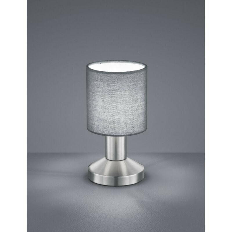 Trio GARDA 595400111 éjjeli asztali lámpa matt nikkel fém excl. 1 x E14, max. 25W E14 1 db IP20