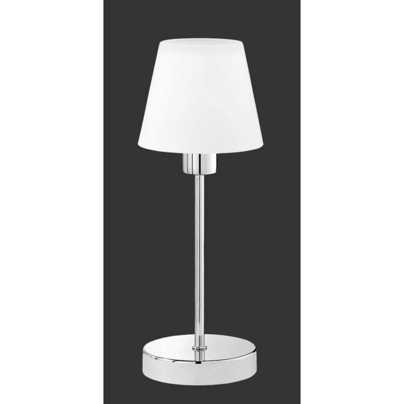 Trio LUIS 595500106 érintőkapcsolós asztali lámpa króm excl. 1 x E14, max. 40W E14 1 db