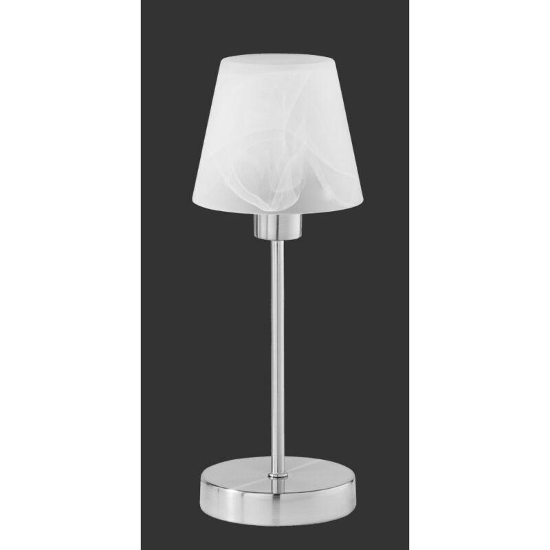 Trio LUIS 595500107 érintőkapcsolós asztali lámpa fehér excl. 1 x E14, max. 40W E14 1 db