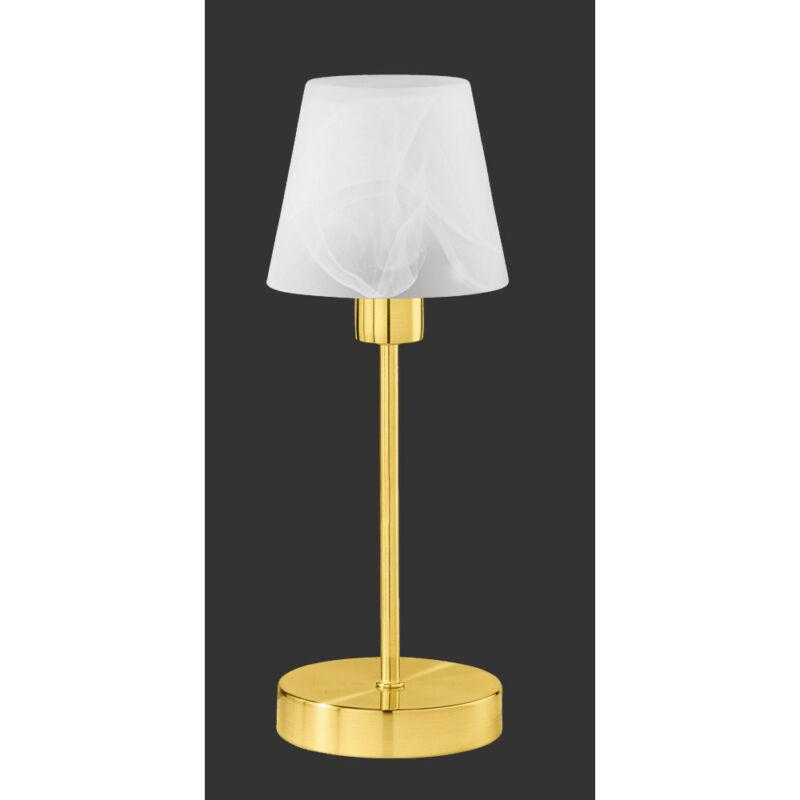 Trio LUIS 595500108 érintőkapcsolós asztali lámpa fehér excl. 1 x E14, max. 60W E14 1 db