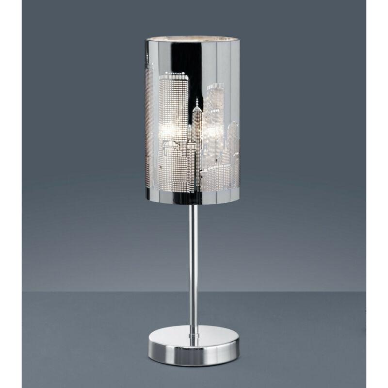 Trio CAPITAL 598400106 érintőkapcsolós asztali lámpa króm fém excl. 1 x E14, max. 40W E14 1 db IP20