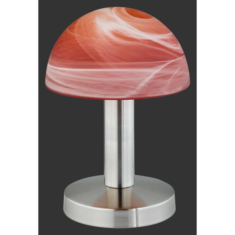 Trio FYNN 599000118 érintőkapcsolós asztali lámpa matt nikkel excl. 1 x E14, max. 40W E14 1 db