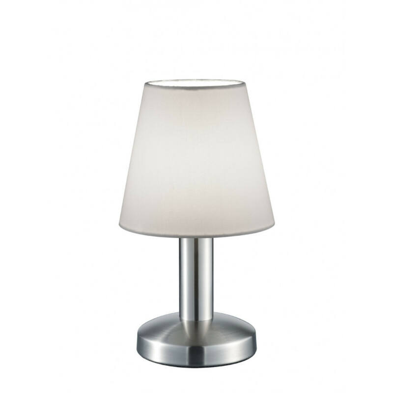 Trio MATS 599600101 érintőkapcsolós asztali lámpa nikkel fém excl. 1 x E14, max. 40W E14 1 db IP20