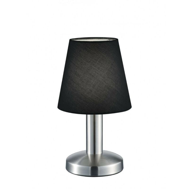Trio MATS 599600102 érintőkapcsolós asztali lámpa nikkel fém excl. 1 x E14, max. 40W E14 1 db IP20