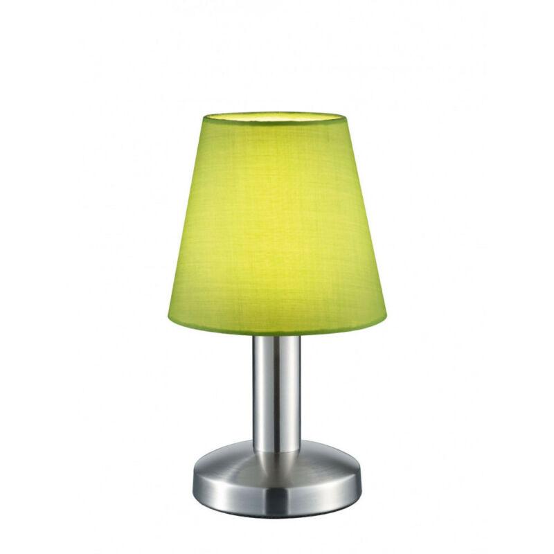 Trio MATS 599600115 érintőkapcsolós asztali lámpa nikkel fém excl. 1 x E14, max. 40W E14 1 db IP20