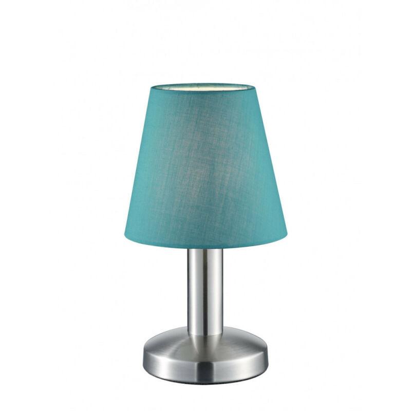 Trio MATS 599600119 érintőkapcsolós asztali lámpa nikkel fém excl. 1 x E14, max. 40W E14 1 db IP20