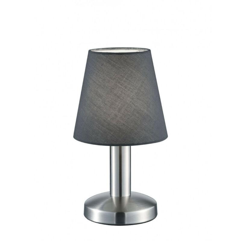 Trio MATS 599600142 érintőkapcsolós asztali lámpa nikkel fém excl. 1 x E14, max. 40W E14 1 db IP20
