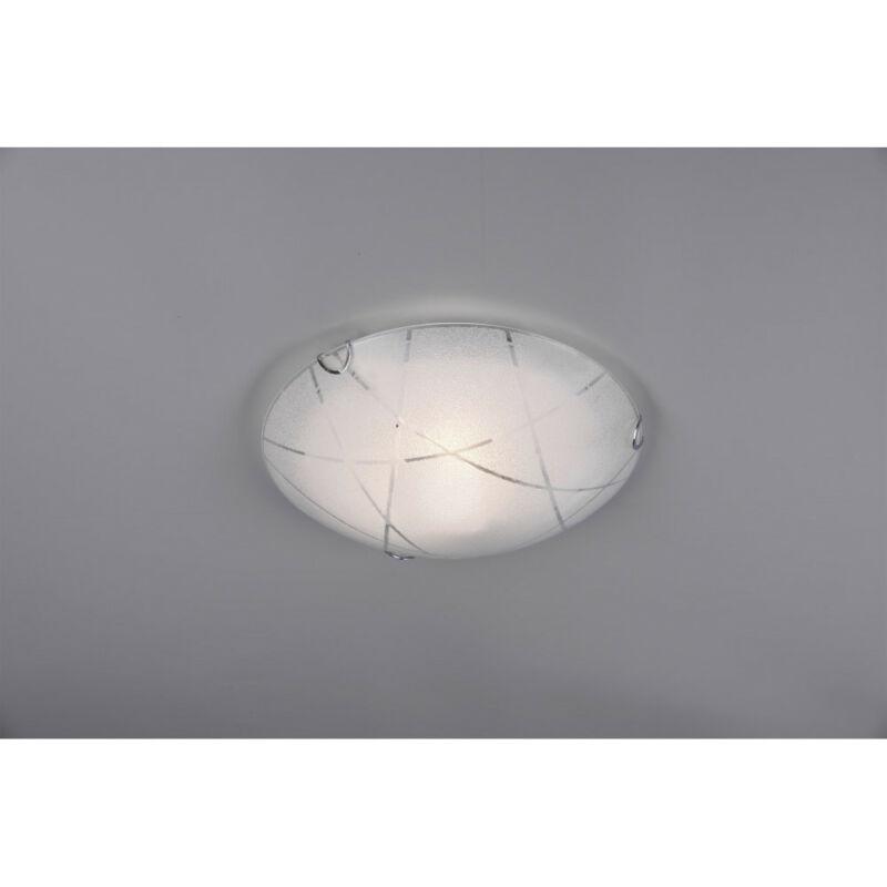 Trio SANDRINA 601200100 mennyezeti lámpa  fehér   üveg   excl. 1 x E27   E27   1 db  IP20